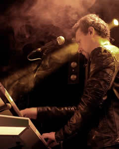 Andrea Augelli - Keyboards & vocals